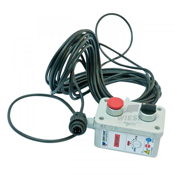 Fernbedienung CF8 + Kabel und Stecker