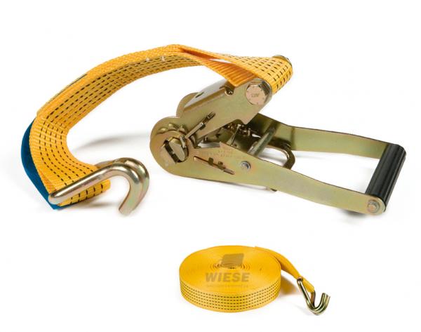 Spannband 50mm. L=15m. gelb 5Tonnen