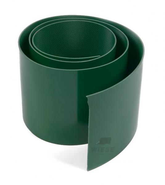 PVC Streifen grün 160mm. L=2500