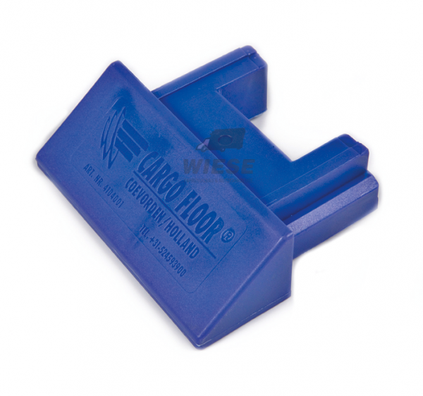 Kunststoff Endkappe 45° - 112mm