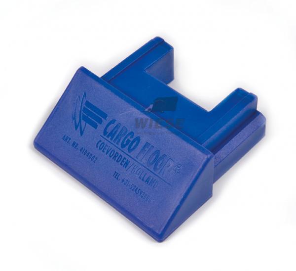 Kunststoff Endkappe 45° - 97mm