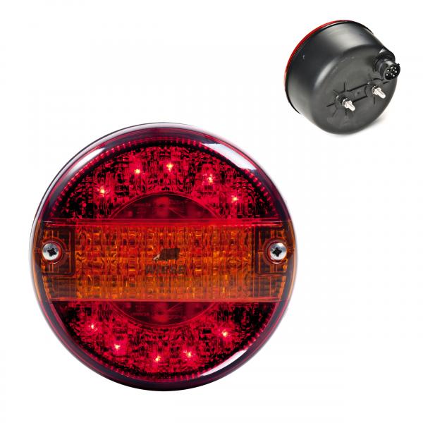 Heckleuchte LED 140mm baj8p