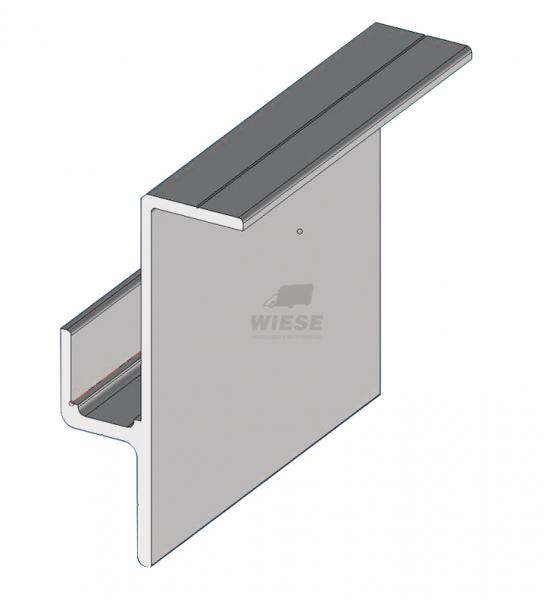 Alu Unterrandprof. K502/K110 L=13600mm.