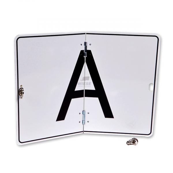 A-Schild klappbar