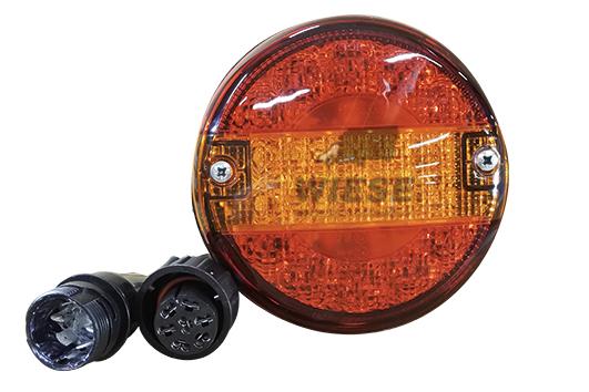 Heckleuchte 3-Kammer LED niedrig