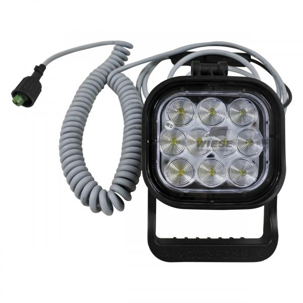 Arbeitsleuchte LED mit Spiralkabel