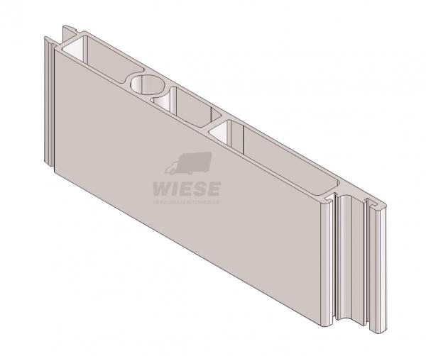 Profil Seitentür/flache Hecktür L=6000mm.