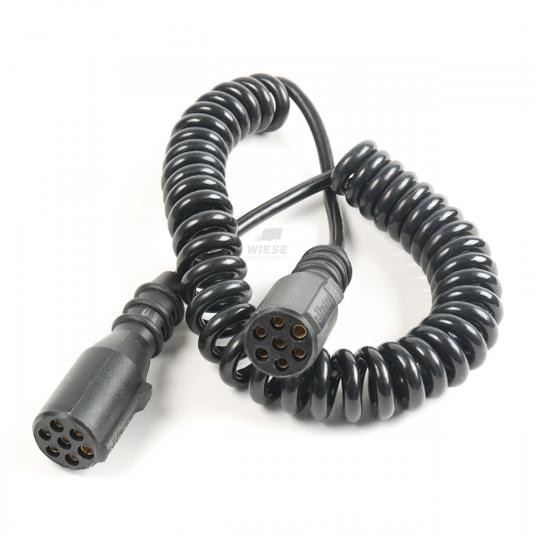 Spiral-Kabel Beleuchtung